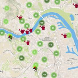Bild: Linz Pflückt-Map