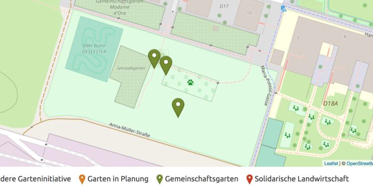 essbare Seestadt Map