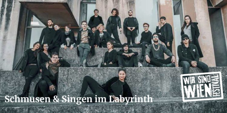 5. Sept. – Wiener Schmusechor im Labyrinth-Garten